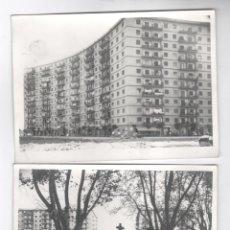 Fotografía antigua: SANT ADRIÀ DE BESÓS, 1960'S. AV. JOSÉ ANTONIO. 3 FOTOGRAFÍAS 13X18CM.. Lote 114425799