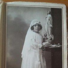 Fotografía antigua: FOTO DE PRIMERA COMUNION 1922 LOS ITALIANOS SANTANDER.. Lote 114873180