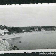 Fotografía antigua: COSTA BRAVA. PLAYA DE LA FOSCA. PALAMÓS. 15 DE AGOSTO DE 1950. Lote 115184195