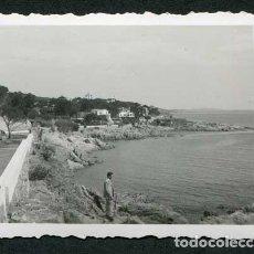 Fotografía antigua: COSTA BRAVA. S'AGARÓ. CAMÍ DE LA CORONISA. AGOSTO DE 1950. Lote 115187591