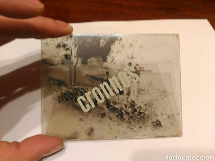 Fotografía antigua: Foto antigua de caza. Placa de cristal Gelatino-Bromuro 1910 - Foto 2 - 109126303