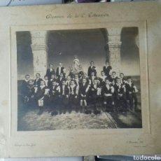 Fotografía antigua: VALLADOLID. ALUMNOS DEL COLEGIO SAN JOSÉ 1910. Lote 115579680