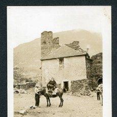 Photographie ancienne: LLEIDA. BOHÍ. MULA. PUEBLO. CASAS. CALLE. 1934. Lote 116123295