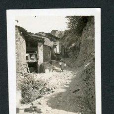 Fotografía antigua: LLEIDA. CASTELLBO D'URGELL. PUEBLO. CALLE. 1934. Lote 116123923