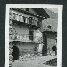 Fotografía antigua: LLEIDA. ESPOT. PUEBLO. CASAS. CALLES. 1934. Lote 116124687