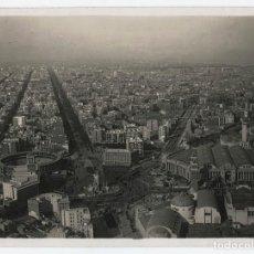 Fotografía antigua: BARCELONA, VISTA AEREA DE LA PL. ESPAÑA, 1930. FOTO: SAGARRA TORRENTS, 18X24 CM.. Lote 116220027