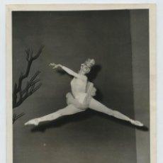 Fotografía antigua: MARJORIE TALLCHIEF, BAILARINA AMERICANA, AÑO 1955. BALLET IDILIO, MARQUÉS DE CUEVAS.. Lote 116220135