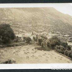 Photographie ancienne: BOÍ. ALTA RIBAGORÇA. VISTA GENERAL DE BOÍ. AGOST DE 1934. Lote 116278159