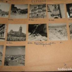 Fotografía antigua: GUADIX GRANADA CONJUNTO 12 FOTOGRAFIAS MONTADAS SOBRE CARTON 6 X 6 CMTS. Lote 116504767
