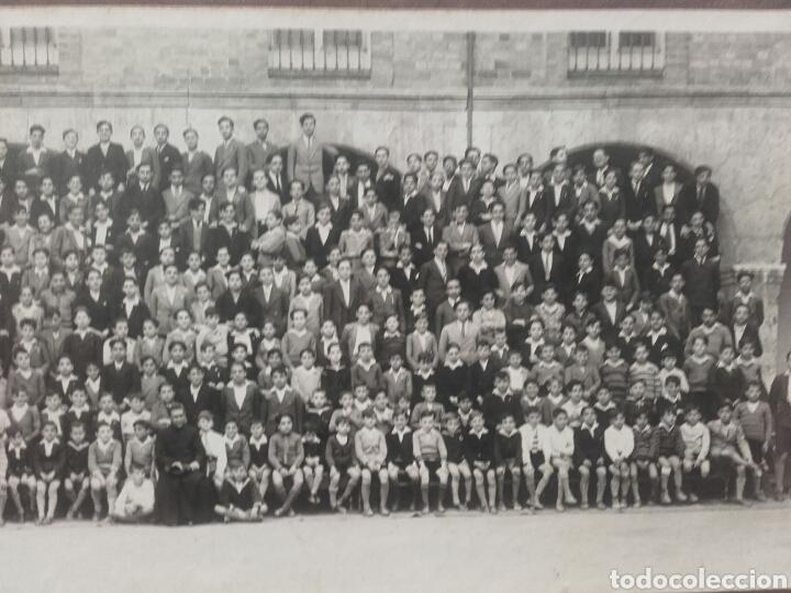 Fotografía antigua: ALUMNOS DEL COLEGIO DE SAN JOSE DE VALLADOLID POSANDO EN EL PATIO,CIRCA 1915 - Foto 2 - 119122963