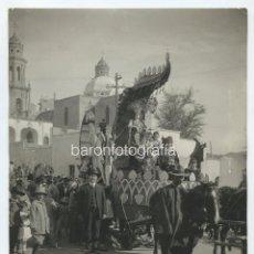 Fotografía antigua: MÉXICO, CARNAVAL DE 1920, S.M. CONCHA, HERMOSILLO, SON. FOTO: TAVIZÓN 20X24 CM.. Lote 121021987