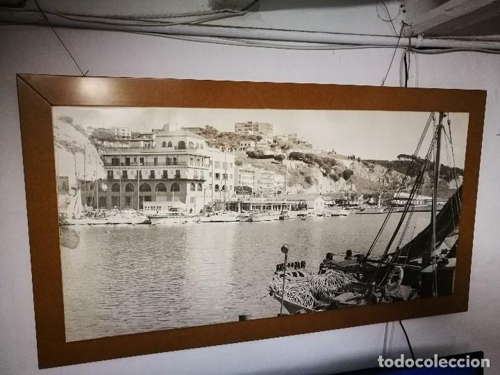 Fotografía antigua: MURAL POSTER CARTEL AMPLIACION GRAN TAMAÑO PUERTO COSTA TARRAGONA LOCALIDAD CATALANA AÑOS 50 - Foto 7 - 121049887