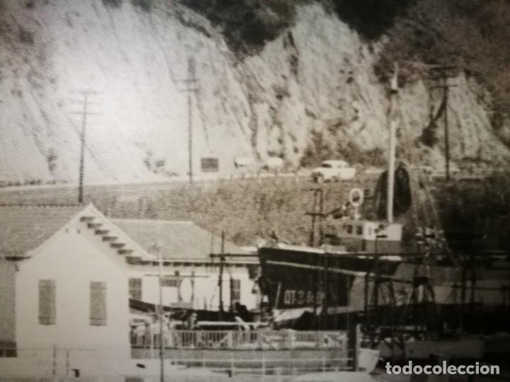 Fotografía antigua: MURAL POSTER CARTEL AMPLIACION GRAN TAMAÑO PUERTO COSTA TARRAGONA LOCALIDAD CATALANA AÑOS 50 - Foto 13 - 121049887
