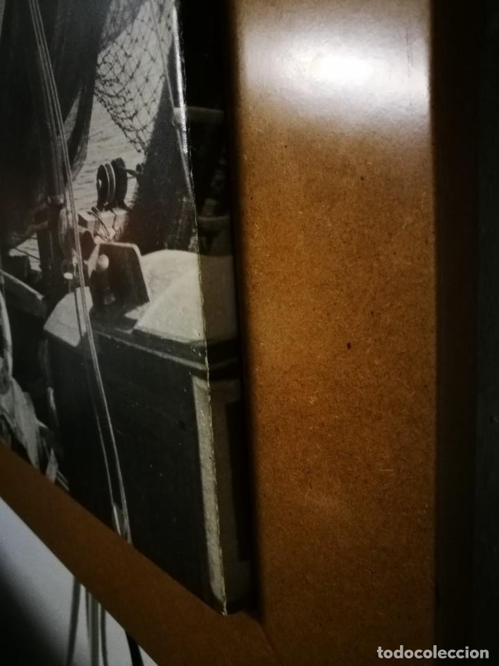 Fotografía antigua: MURAL POSTER CARTEL AMPLIACION GRAN TAMAÑO PUERTO COSTA TARRAGONA LOCALIDAD CATALANA AÑOS 50 - Foto 15 - 121049887