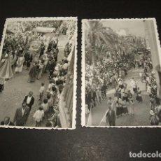 Fotografía antigua: ELCHE ALICANTE 5 FOTOGRAFIAS ANTIGUAS. Lote 121480851