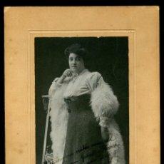 Fotografía antigua: RETRATO - DAMA - 1920'S - FOTOGRAFIA J. VILATOBÁ. Lote 121668467