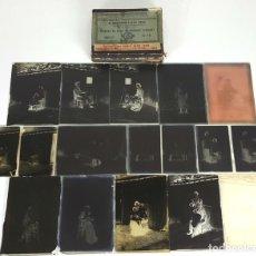 Fotografía antigua: COLECCION DE 14 PLACAS FOTOGRAFICAS DE CRISTAL. SIGLO XIX-XX. . Lote 121981371