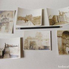 Fotografía antigua: LOTE DE 6 FOTOGRAFÍAS DE ALCAÑIZ - TERUAL - PRINCIPIOS DEL SIGLO XX. Lote 122165575