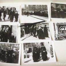 Fotografía antigua: FOTOGRAFIAS DE UN ENTIERRO EN BARCELONA - FOTOGRAFÍA TORRES BARCELONA. Lote 122165943