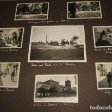 Fotografía antigua: RONDA MALAGA CONJUNTO 51 FOTOGRAFIAS POR VIAJERO ALEMAN 1926 . Lote 122561827