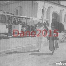 Fotografía antigua: EL SARDINERO 1917 SANTANDER - FOTOGRAFIA ANTIGUA - NEGATIVO DE CRISTAL. Lote 123311887