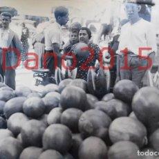 Fotografía antigua: MADRID, VENTA DE SANDÍAS 1935 - FOTOGRAFIA ANTIGUA - NEGATIVO DE CRISTAL. Lote 124391243