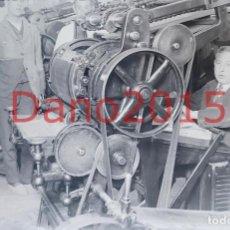 Fotografía antigua: MADRID, CASA DE LA MONEDA FABRICACION DE SELLOS 1923 - FOTOGRAFIA ANTIGUA - NEGATIVO DE CRISTAL. Lote 124392127