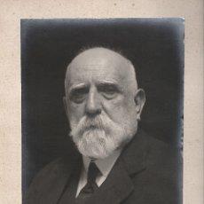 Fotografía antigua: EL DOCTOR JAUME FERRAN I CLUA (CORBERA D'EBRE 1851- 1929) MÉDICO Y BACTERIÓLOGO. RETRATO DEDICADO. Lote 124618211