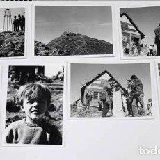 Fotografía antigua: COLECCIÓN DE 7 FOTOS TAMAÑO 7X10 CM DEL MONTSENY TURÓ DE L'HOME , 1970. Lote 124650819