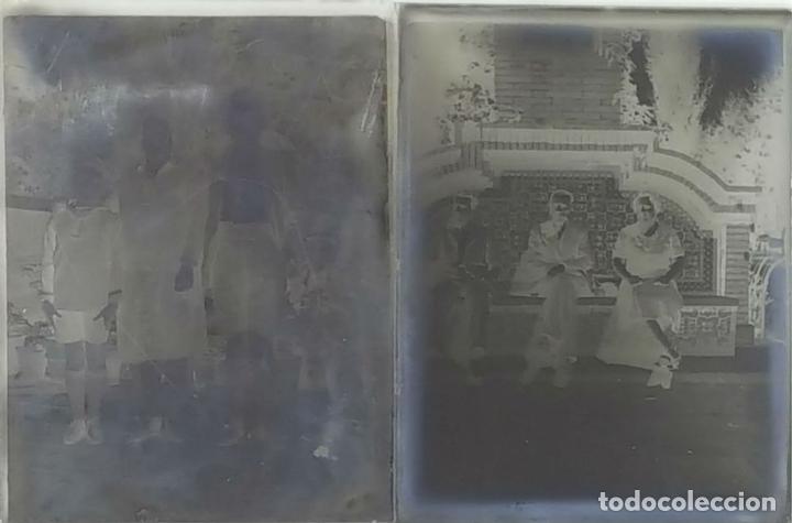 Fotografía antigua: COLECCIÓN DE 43 PLACAS DE FOTOGRAFIA. GELATINOBROMURO DE PLATA. SIGLO XX. - Foto 2 - 124741531