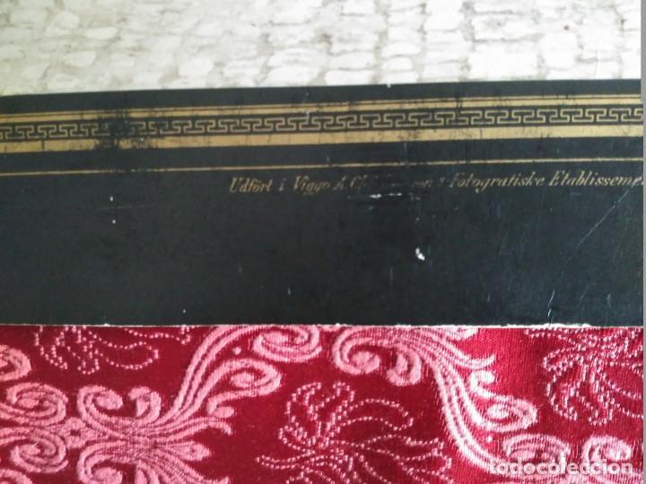Fotografía antigua: gran foto sobre carton ejercito sueco ustergade finales siglo XIX - Foto 2 - 127621739