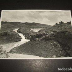 Fotografía antigua: MONEVA ZARAGOZA PANTANO RECIEN CONSTRUIDO CONJUNTO 12 FOTOGRAFIAS 1933 OBRA CIVIL SEGUNDA REPUBLICA. Lote 128130759