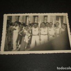 Fotografía antigua: MADRID GRUPO DEPORTISTAS ATLETAS SEU FOTOGRAFIA AÑOS 40. Lote 128150459