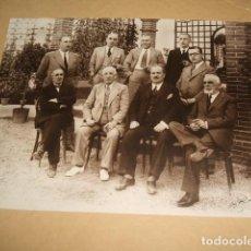 Fotografía antigua: GUADALAJARA GRUPO DE ADMINISTRACION DE OBRAS PUBLICAS DE LA PROVINCIA REYES FOTOGRAFO 1934. Lote 128163835