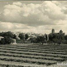 Fotografía antigua: VELEZ RUBIO (ALMERÍA). VISTA PANORÁMICA. FOTOGRAFIA QUE SE CONSERVABA EN EL ARCHIVO DE LA......... Lote 128339927