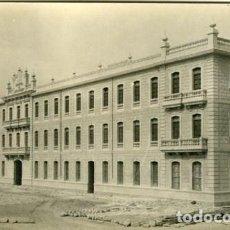 Fotografía antigua: LORCA (MURCIA). 1923. CUARTEL DE SANCHO DÁVILA (EN CONSTRUCCIÓN) TIENE SELLO DEL FOT. MENCHÓN.. Lote 128431315