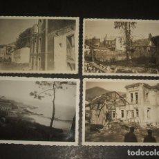 Fotografía antigua: CANGAS DE ONIS BALMORI Y BARRO LLANES ASTURIAS 1937 GUERRA CIVIL 7 FOTOGRAFIAS 6 X 9 CMTS . Lote 128814475