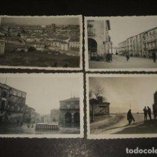 Fotografía antigua: SORIA 1938 GUERRA CIVIL 8 FOTOGRAFIAS 6 X 9 CMTS POR SOLDADO ALEMAN LEGION CONDOR. Lote 128814963