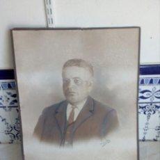 Fotografía antigua: ANTIGUA Y GRAN FOTO FIRMADA Y FECHADA AÑO 1910. Lote 129214708