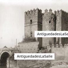 Fotografía antigua: TORRE DE LA CALAHORRA, CÓRDOBA. GRAN CRISTAL NEGATIVO 13X18 CM. CIRCA 1900.. Lote 131242663