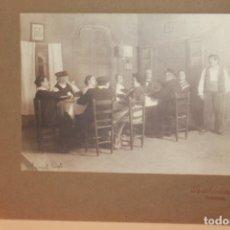 Fotografía antigua: TEATRO, MARÍA MORERA EN SAINET TRIST DE ÀNGEL GUIMERÀ. TEATRO ROMEA, 14 04 1910. FOT. AUDOUARD.. Lote 131394462