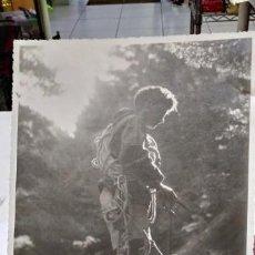 Fotografía antigua: FOTOGRAFÍA ORIGINAL PRESENTADA EN 1946 AL III SALON PROVINCIAL DE ARTE FOTOGRAFICO DE EDUCACION Y ... Lote 132813394