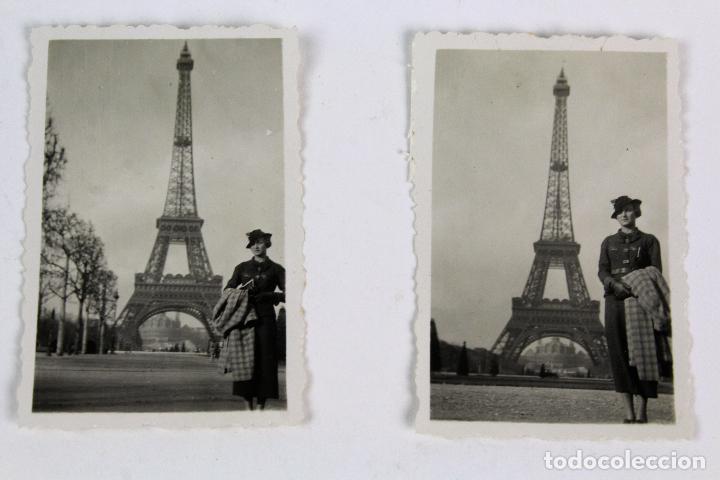 Fotografía antigua: F-3849. PARIS AÑOS TREINTA. COLECCIÖN DE TRES FOTOGRAFIAS. - Foto 2 - 133590582
