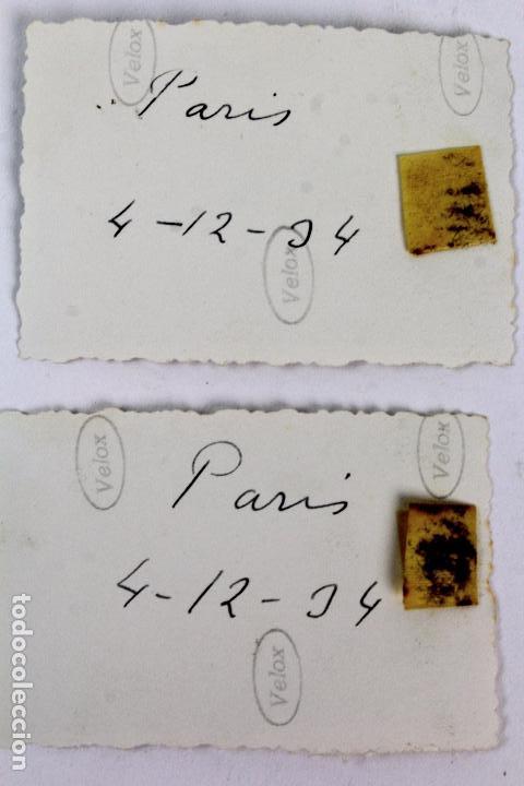 Fotografía antigua: F-3849. PARIS AÑOS TREINTA. COLECCIÖN DE TRES FOTOGRAFIAS. - Foto 3 - 133590582