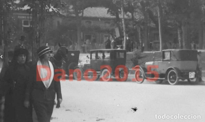 Fotografía antigua: Paseo de Recoletos 1927 Madrid - Fotografia Antigua - Negativo de Cristal - Foto 3 - 133742302