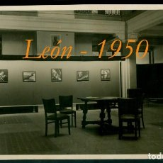 Fotografía antigua: LEÓN - AGRUPACIÓN FOTOGRÁFICA - 1950 - EXPOSICIÓN. Lote 133853770