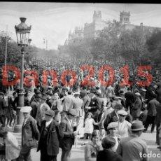 Fotografía antigua: MADRID - FOTOGRAFIA ANTIGUA - NEGATIVO DE CRISTAL. Lote 134210894
