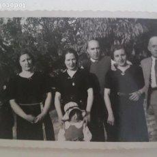 Fotografía antigua: GRUPO FAMILIAR FOTOGRAFIA AÑOS 50, GUADALAJARA. Lote 134935166