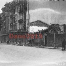 Fotografía antigua: OVIEDO, REVOLUCIÓN DE ASTURIAS 1934 - NEGATIVO DE CRISTAL - FOTOGRAFÍA ANTIGUA. Lote 135073026