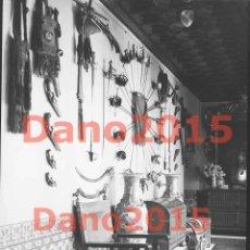 Fotografía antigua: CASA DEL CONDE DE AGUILAR, SEVILLA 1923 - NEGATIVO DE CRISTAL - FOTOGRAFÍA ANTIGUA. Lote 135563538